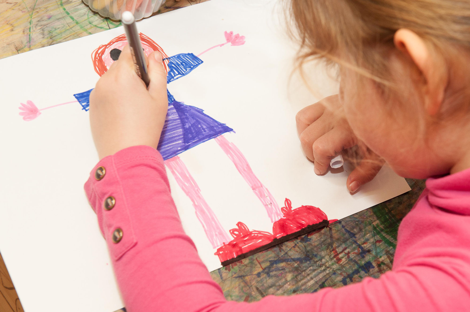 Zrelosť dieťaťa - kresba postavy